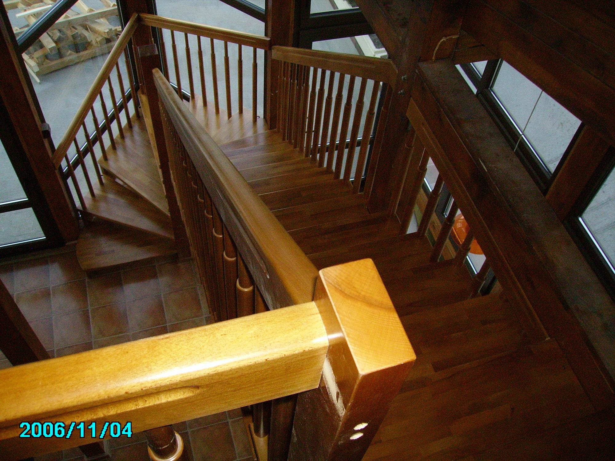 Дървени стълби-ПРОЕКТ-31