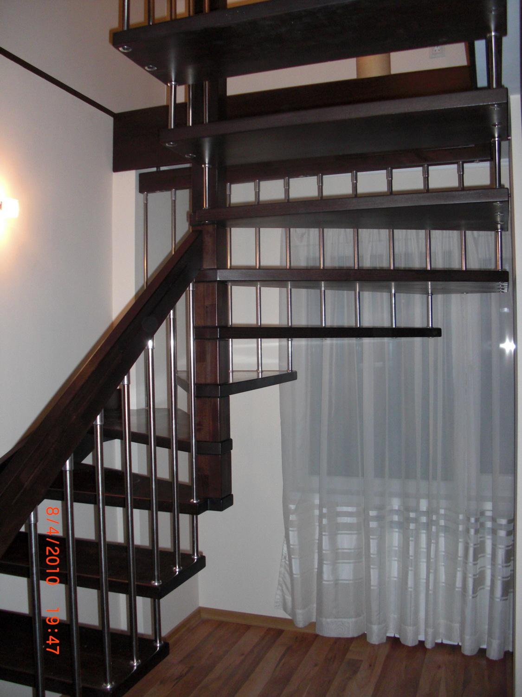 Интериорни дървени стълби-ПРОЕКТ-40