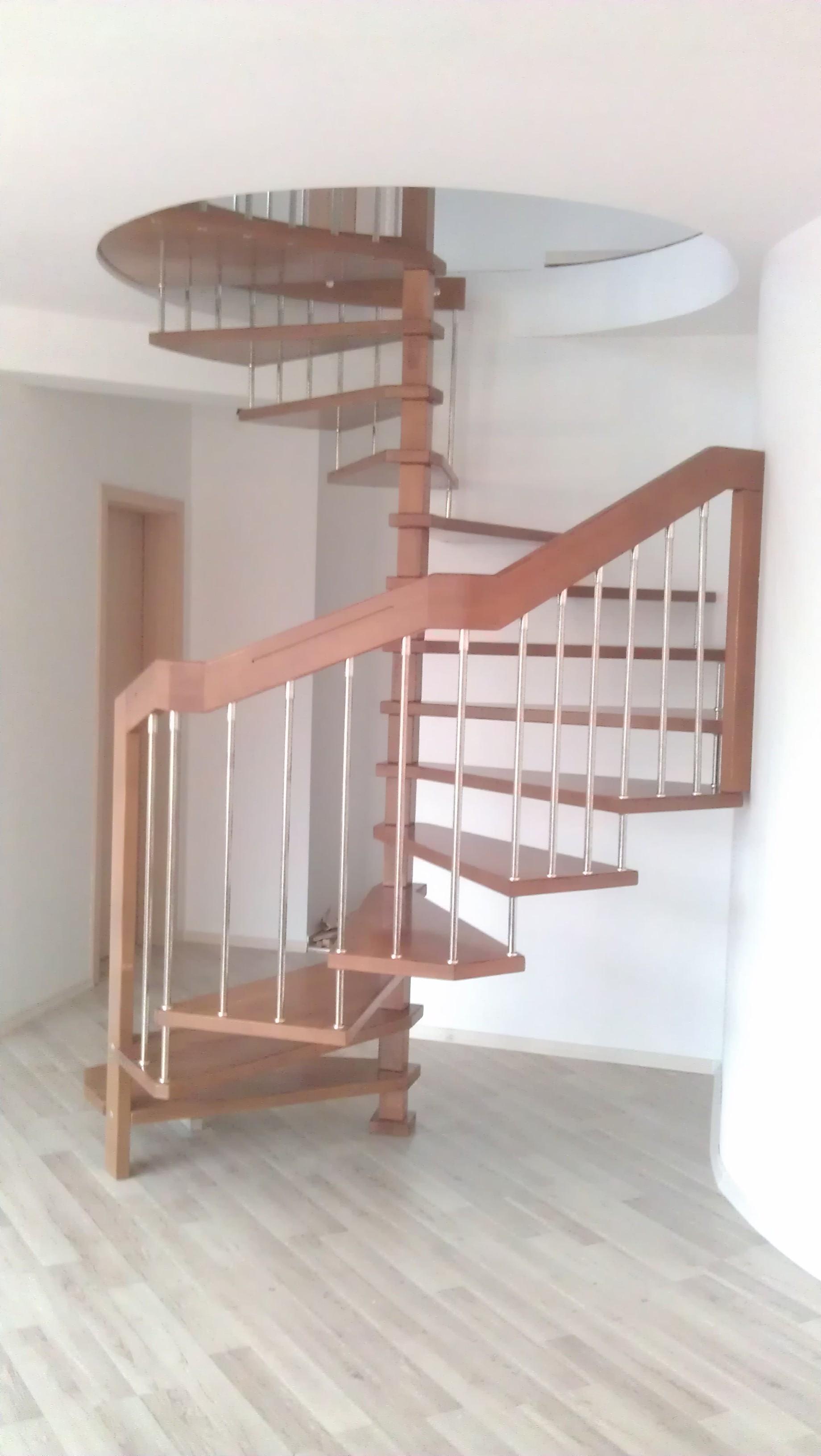 Спираловидни стълби-ПРОЕКТ-61