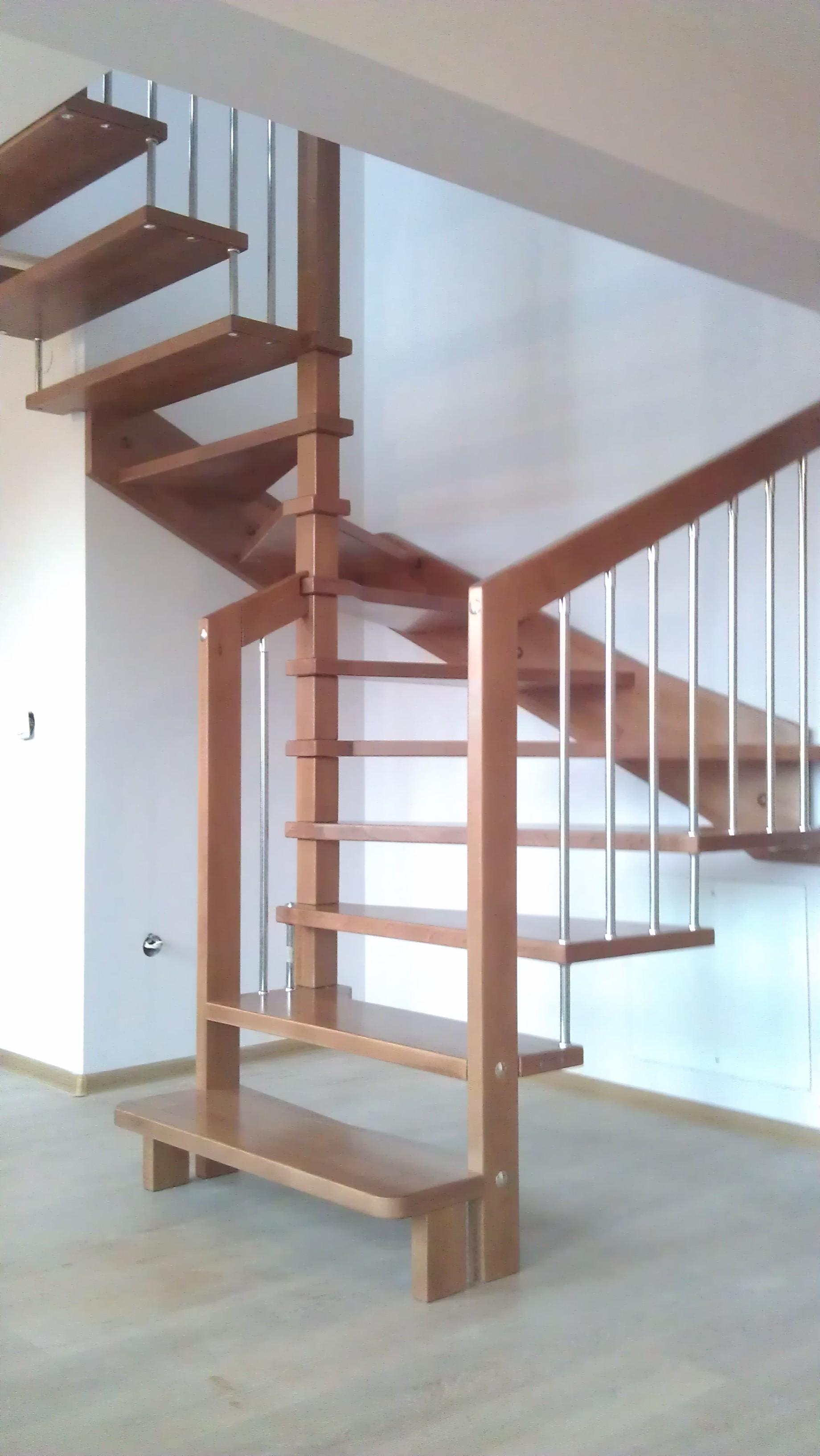 Дървени стълби-ПРОЕКТ-62