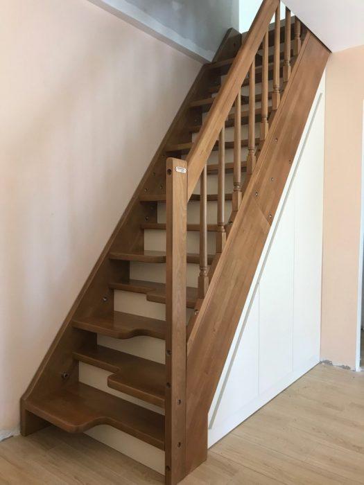 Дървени стълби тип Пачи крак-ПРОЕКТ-93-1