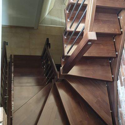 Дървени стълби-108-1