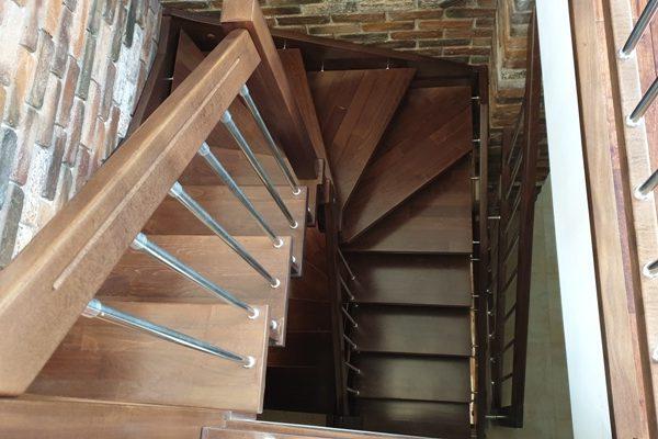 Дървени стълби -108