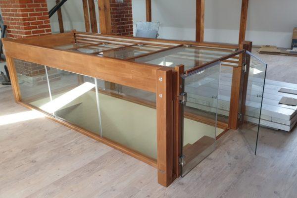 Стъклен парапет -48
